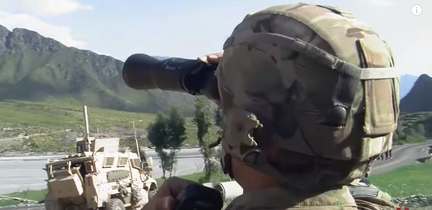(WATCH) U.S. Airstrike Blows Taliban Snipers To Pieces Featured
