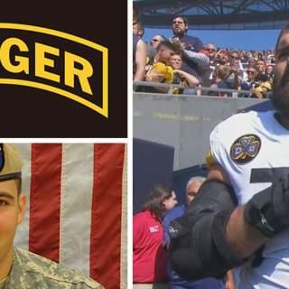Alejandro Villanueva 320x320 - NFL player, Army Ranger veteran Alejandro Villanueva is only Steeler to be on field for US national anthem; rest stay in locker room (VIDEO)