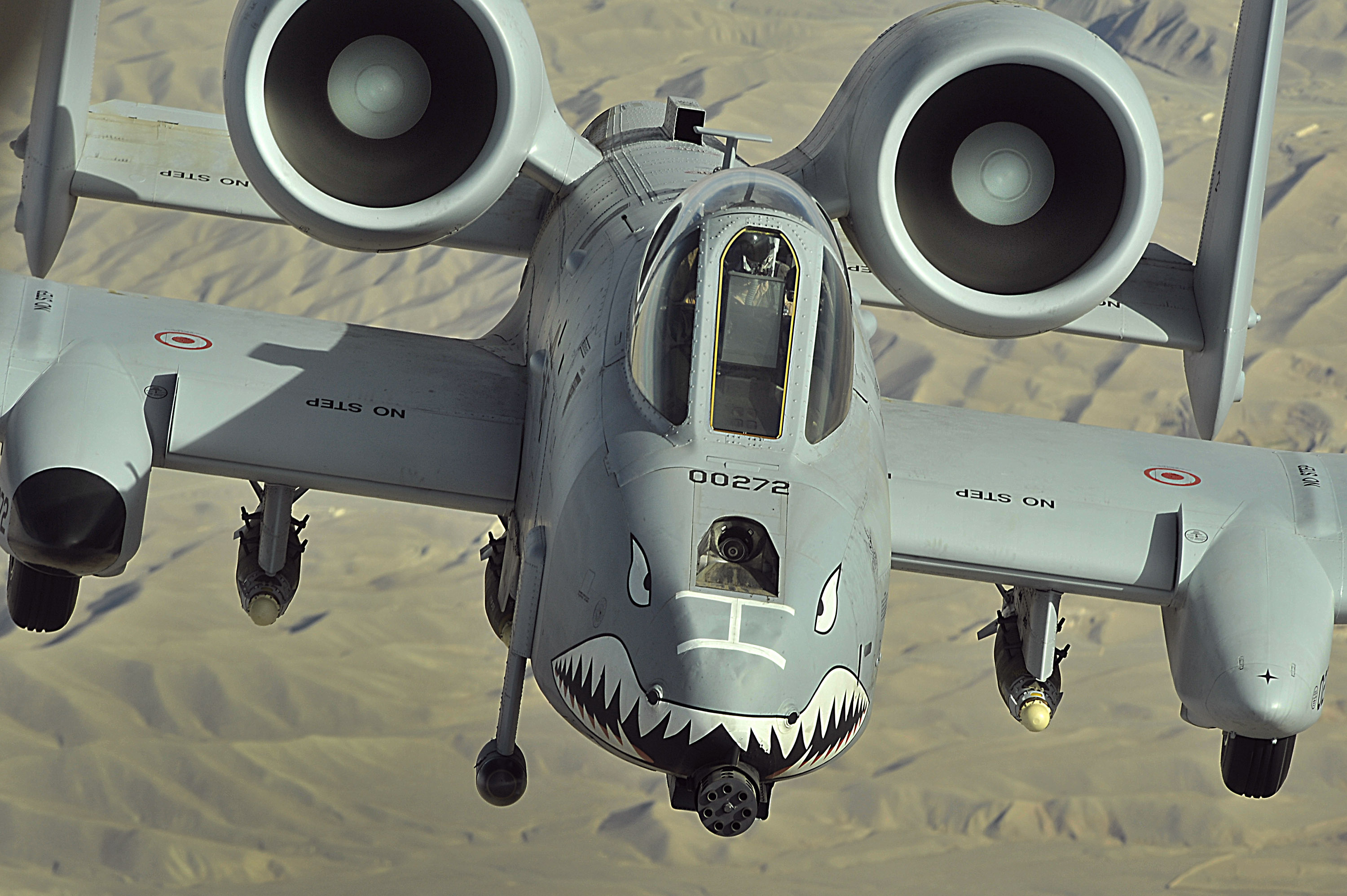 An A 10 Thunderbolt II flies a close air support mission over Afghanistan2 - The Air Force is testing these 4 planes to potentially fight alongside the legendary A-10
