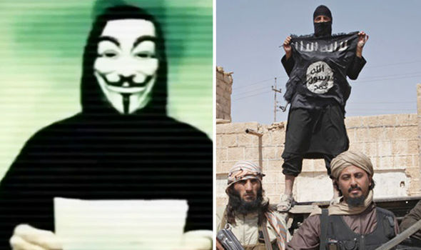 Anonymous Takes Down 5,500 ISIS Twitter Accounts, Begins Leaking Personal Info Featured