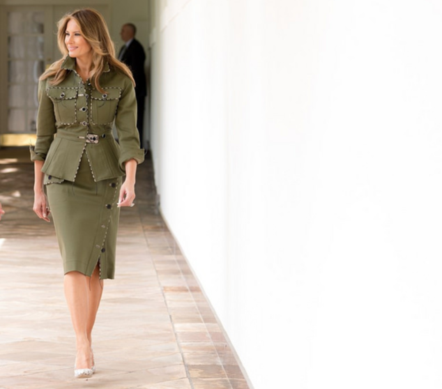 April 27 - From Fifth Avenue to the White House, Melania Trump is one fashionable First Lady