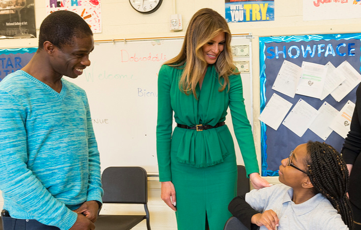 April 5 - From Fifth Avenue to the White House, Melania Trump is one fashionable First Lady