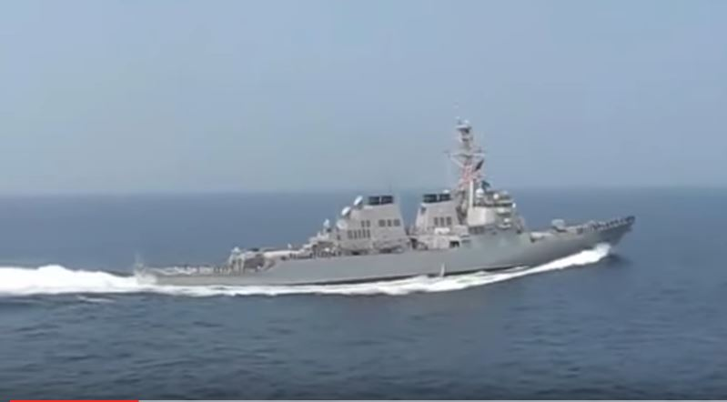 Stunning Footage Of An Amazing U.S. Navy Arleigh Burke-Class Destroyer Maneuver Featured