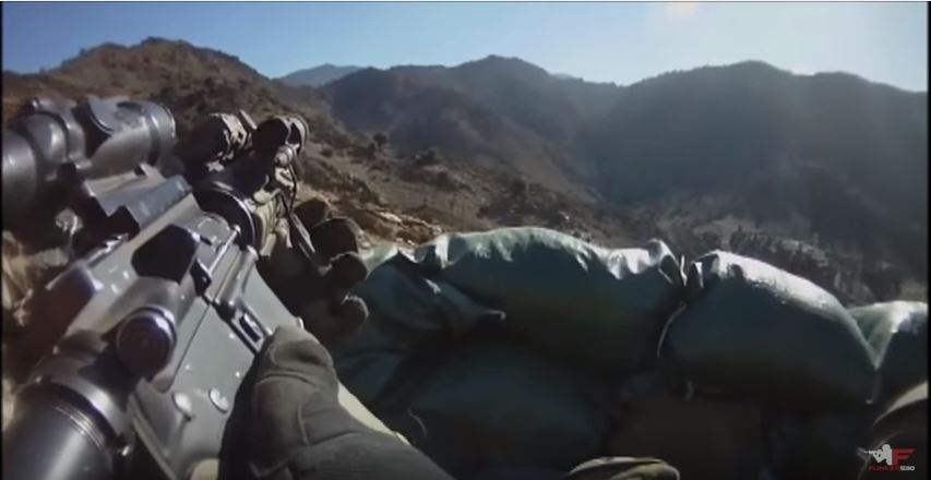 Watch The 101st Airborne Division Light Up Taliban Forces Featured