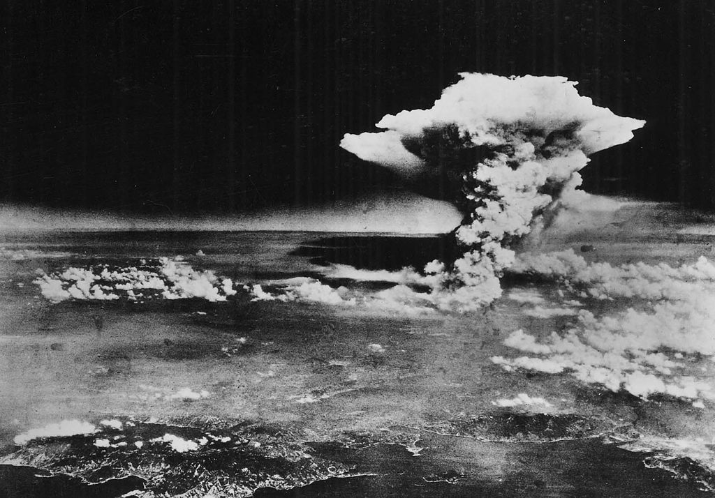 This is what it looked like after the US dropped an atomic bomb on Hiroshima 75 years ago