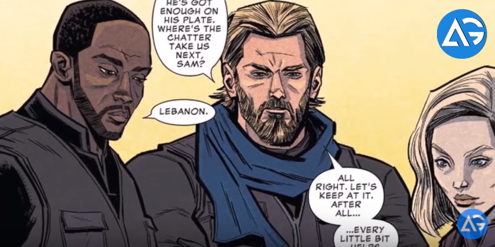 Avengers Prelude - Captain America is fighting ISIS in new Avengers comic book