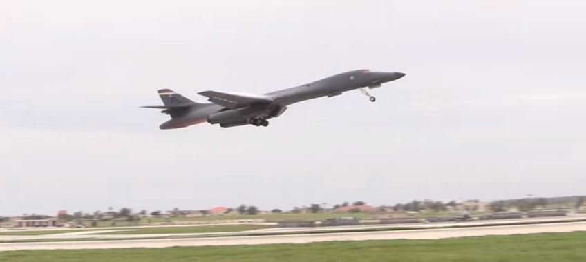 B 1 Bomber 1 - The Air Force's B-1 Lancer bomber has likely dropped more than 3,800 munitions on ISIS