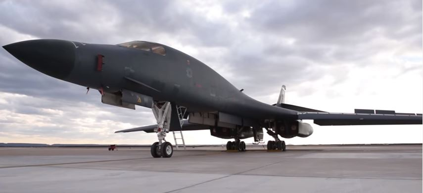 B 1 Lancer - The Air Force's B-1 Lancer bomber has likely dropped more than 3,800 munitions on ISIS