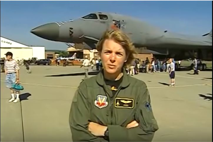 See The Bunker Busting Rockwell B-1 Lancer In Action! Featured