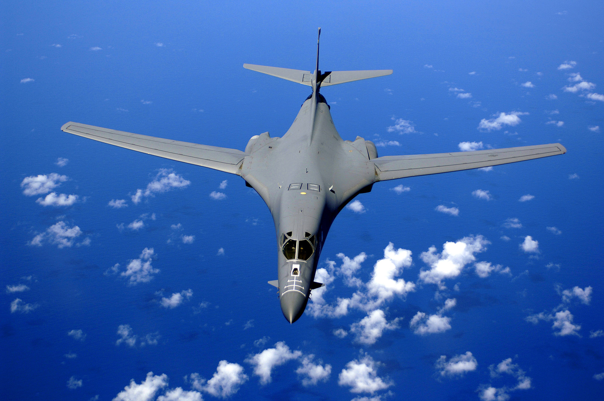 B 1B - US sends supersonic bombers over North Korea in show of force