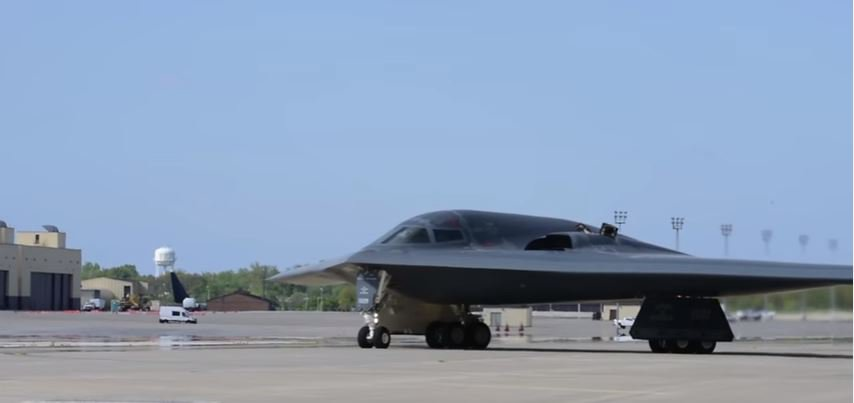 B 2 Bomber At Whitman - Watch A Great Video Of The U.S. Air Force Stealth Bomber During Exercise Neptune Falcon