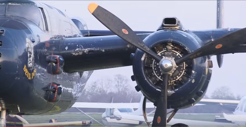 B 25 Doolittle Anniversary - Watch B-25 Mitchell Bombers Take Off Grimes Field On The Anniversary Of Doolittle's Raid