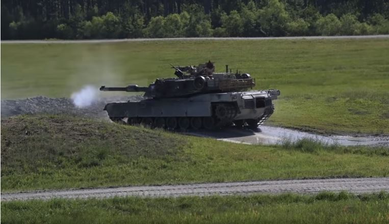 Big Guns Show of Force - Tank gunnery competition footage sends a message of US military power like no other