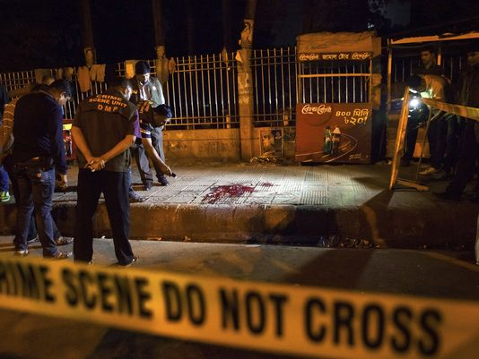US Writer Killed Blogger in Bangladesh hacked to death. (via USA today)