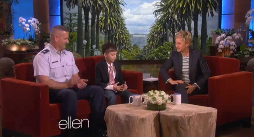 (Video) Boy Who Donated $20 Bill To Soldier Gets A Special Gift Featured