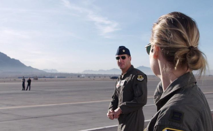 Captain Marvel Actress Pays Tribute To Air Force Pilot