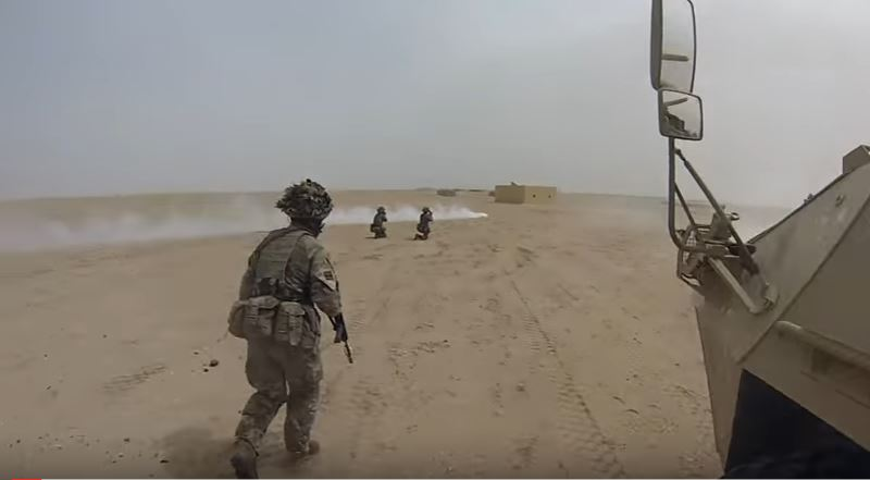 (VIDEO) Watch British Troops Join With Kuwaiti Forces In Exercise Desert Warrior Featured