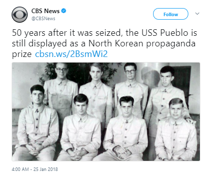 CBS News2 - North Korea still has a captured US Navy ship from 50 years ago and is flaunting it
