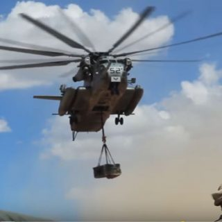 CH-53E In Action