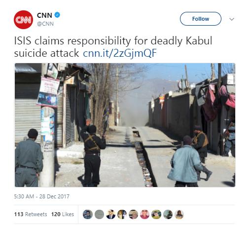 CNN - 41 killed, dozens injured in Afghanistan suicide bombing