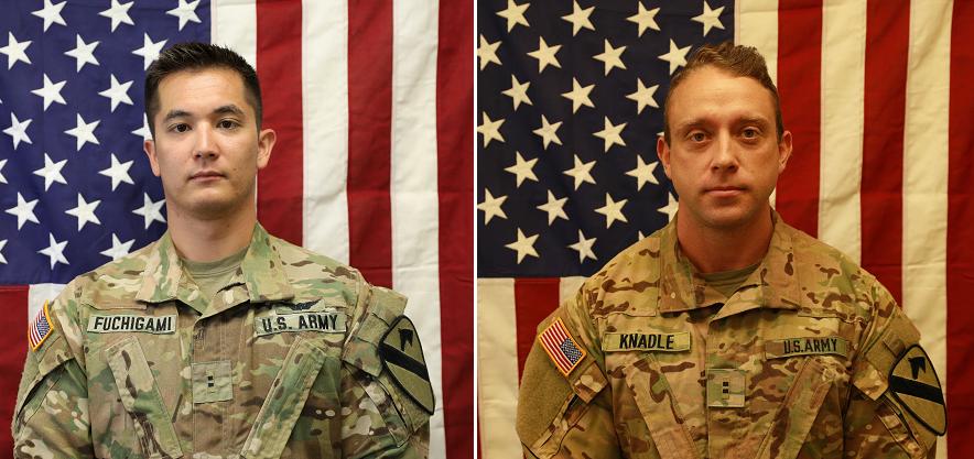 Pentagon identifies 2 Apache pilots killed in Afghanistan crash