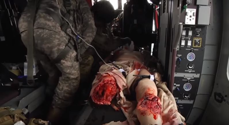 Watch The Disturbingly Realistic Robot Military Medics Use to Hone Their Skills Featured
