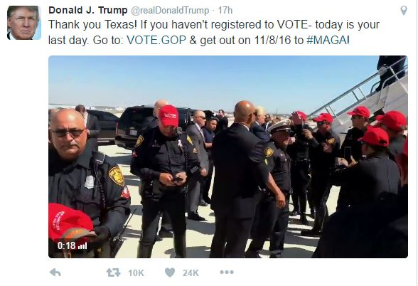 Capture 143 - Cops Punished For Wearing Trump Hats