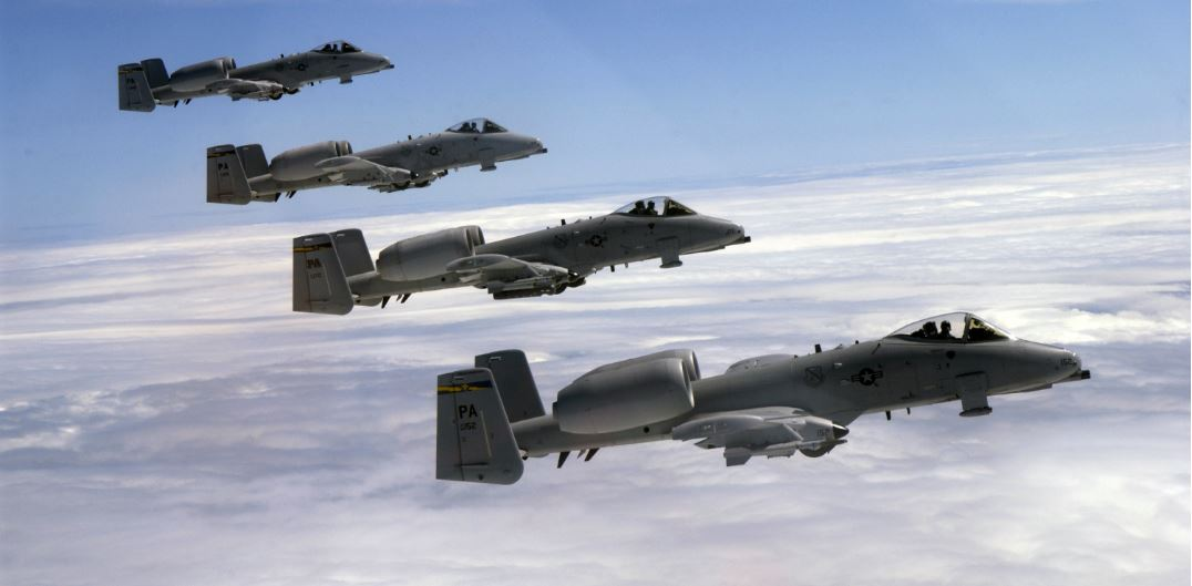 Air Force Material Command Announces Plans To Keep A-10 Warthogs Flying 'Indefinitely' Featured