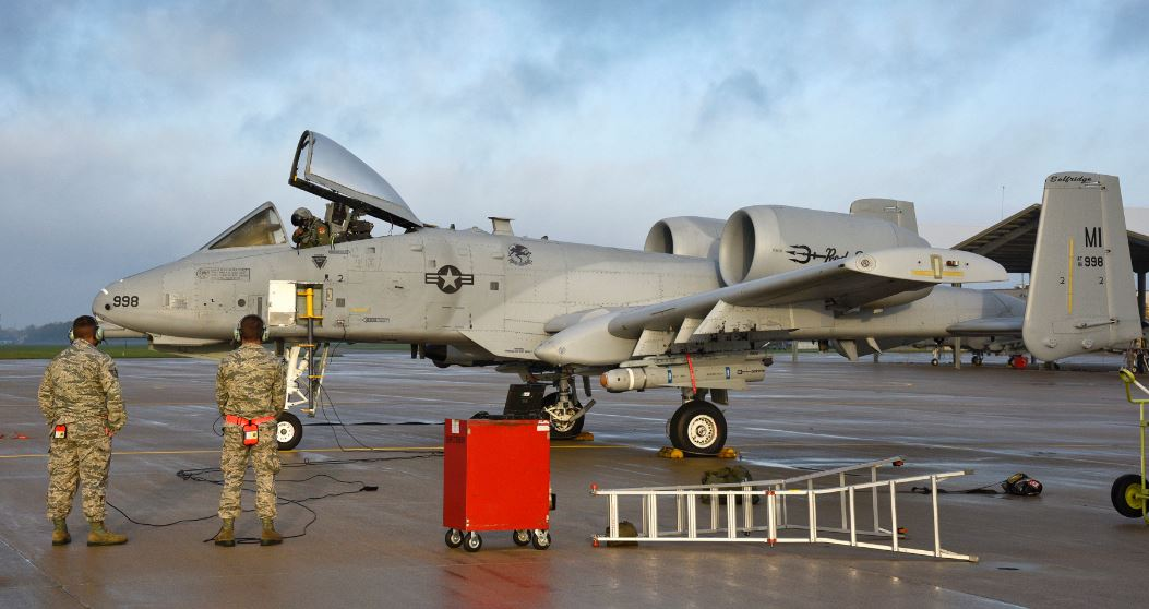 A-10 Warthog Accidentally Drops Training Bombs On Northern Michigan Featured