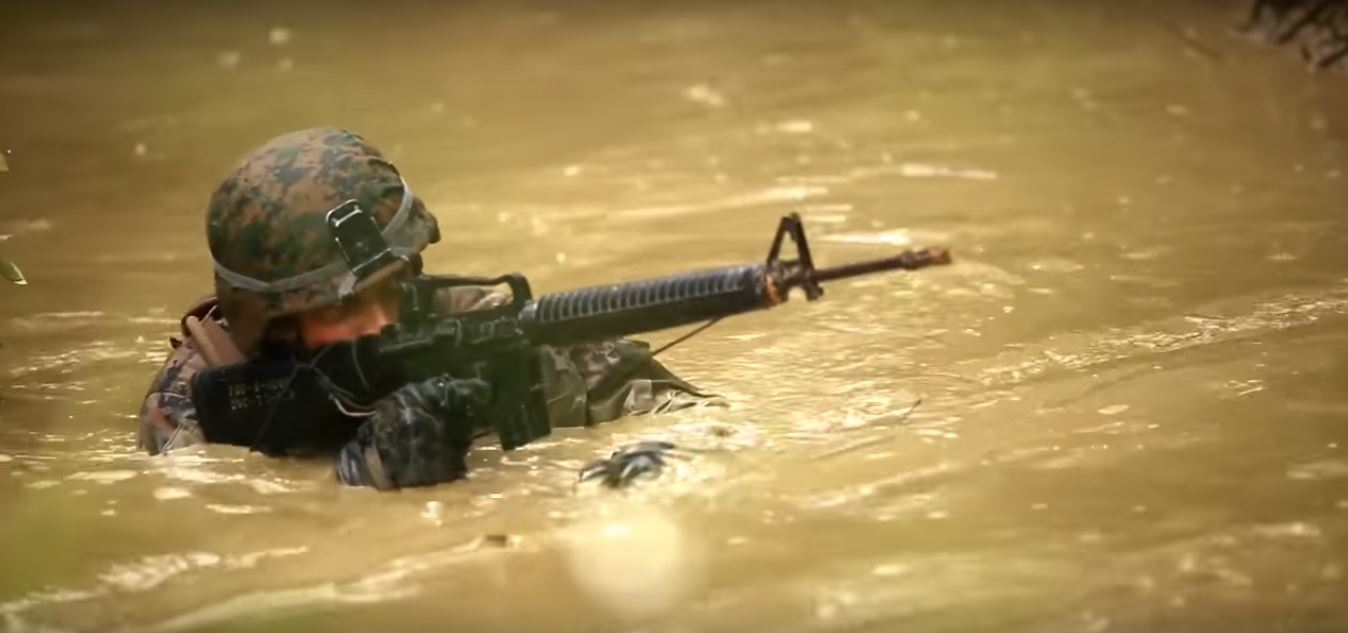 Watch Marines Take On Wet, Hilly And Miserable Marine Jungle Training Featured