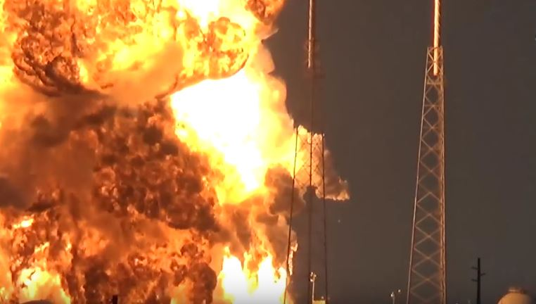 SpaceX Rocket Explosion Destroys Facebook's Satellite For Africa Featured