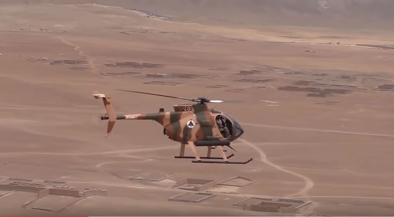 Watch The Cayuse Warrior Attack Helicopter During A Live-Fire Training Exercise Featured