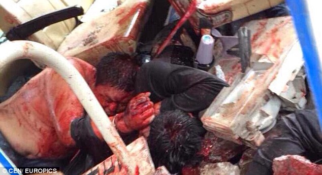 Chinese Police Officers 2 - (Video) Chinese Protestors Beat Police Officers To Death - GRAPHIC