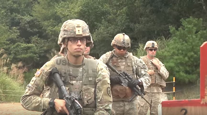 Watch Japan Ground Self-Defense Force Troops Learn Close Combat Marksmanship From U.S. Army Soldiers Featured
