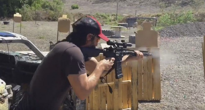 In New HD Video Keanu Reeves Shows Off Surprise Shooting Skills You Never Knew He Had Featured