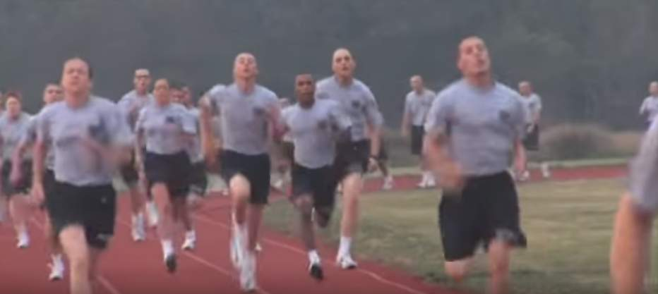 VIDEO) Check out what it's like at USCG Coast Guard boot camp