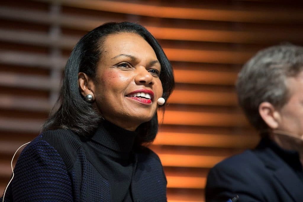 Condoleezza Rice 'relieved' US canceled talks with Taliban