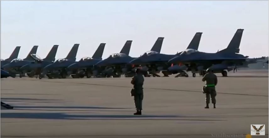 The Tale Of Two Countries Who Fired Missiles At U.S. Air Force F-16's Fighting Jets Featured
