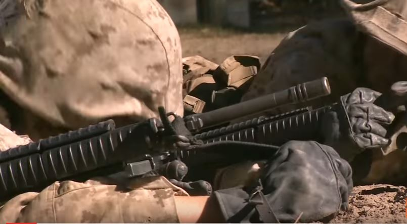 "(VIDEO) Watch U.S. Female Marine Recruits During The Final ""Crucible"" Exercise Featured"