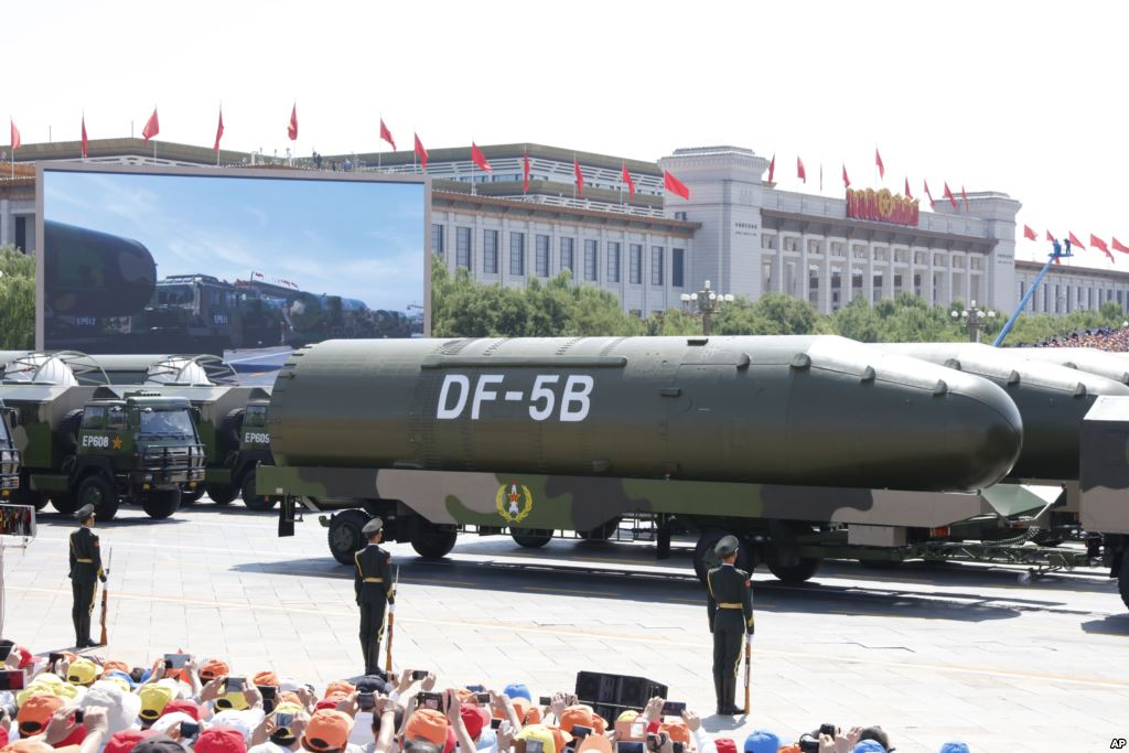 Chinese experts urging 1,000 new nuclear weapons to counter ...