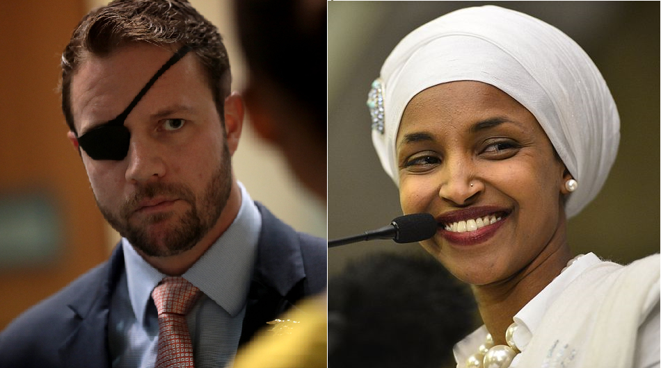 SEAL Rep. Crenshaw called 'captain sh*thead' and 'eyeless f*ck' after defending 9/11 victims to Rep. Omar