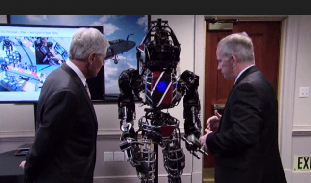 (Video) Pentagon Introduces A Real Life Terminator Robot Featured