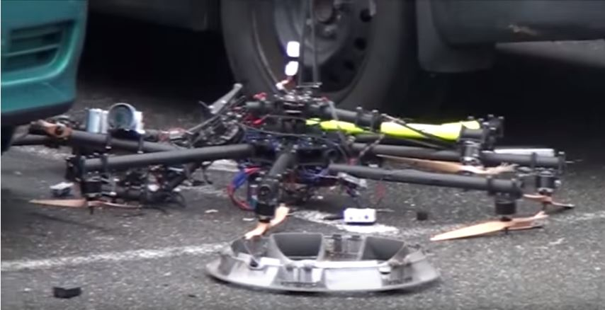 Watch this Absolutely Crazy Compilation Of Drone Crashes, Fails And Wins Featured