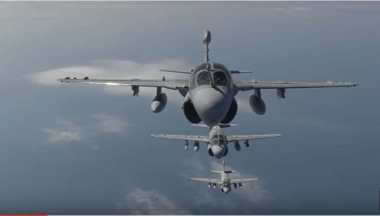 U.S. Marine Electro War Plane EA-6B Prowler Still Has The Ability To Neutralize & Render Enemy Air Defenses Useless After 46 Years In Service Featured