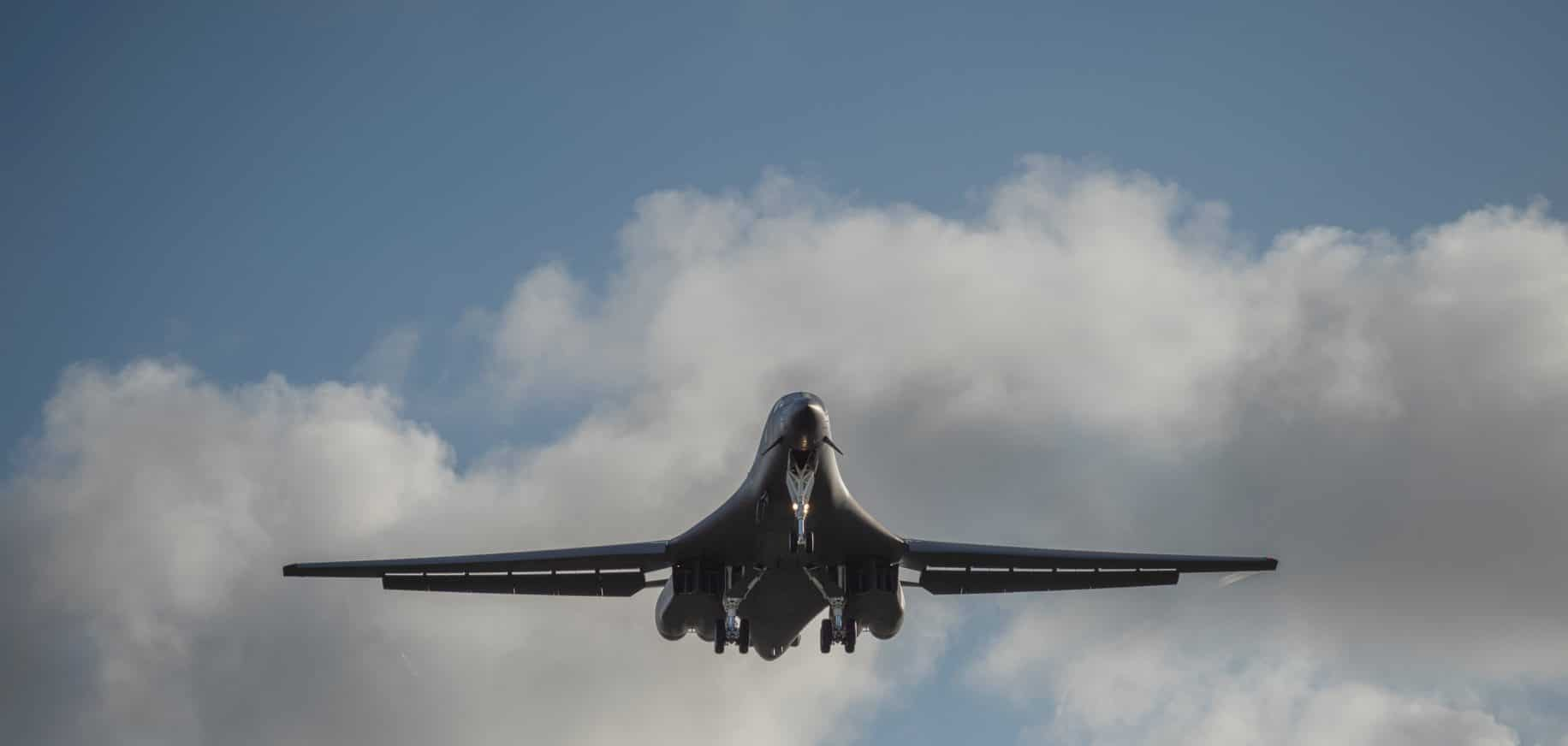 Pics: US B-1B bombers just flew over the South China Sea