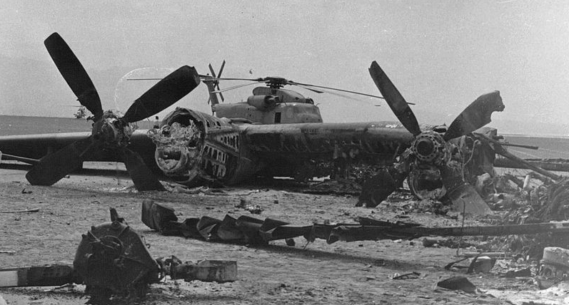 Eagle Claw 1 - This Day In History: The Iran Hostage Rescue Mission Ended In Disaster