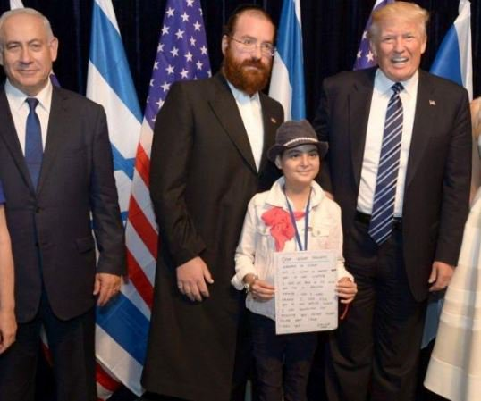 Emilee Imbar with Trump - President Trump Ditched The Media To Make A 14-Year-Old Cancer Patient's Dream Come True