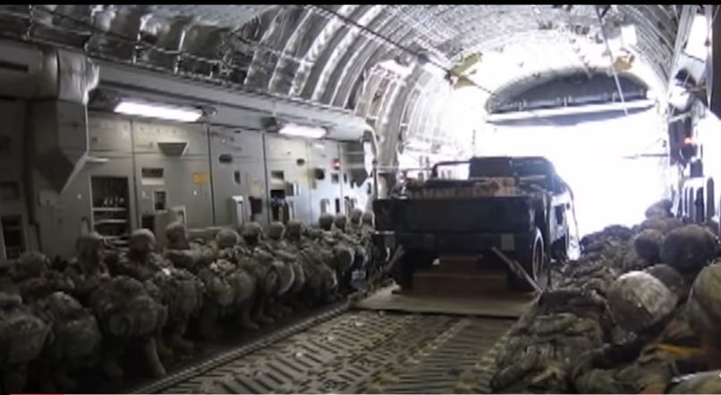 Watch Paratroopers From U.S. Army Airborne Participate In Joint Heavy Equipment Drop Exercises Featured