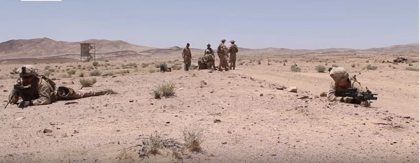 Check Out These Marines & Sailors Conduct Training Exercises In The Middle East Featured