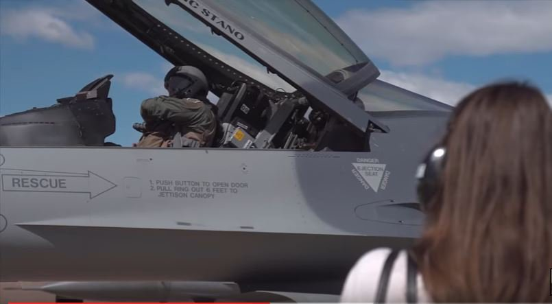 F 16 Deploys To Japan - Watch The Colorado Air National Guard Take Off For Japan